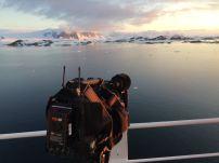 filming sunset
